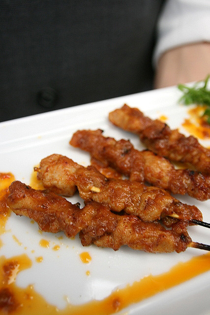 Ridiculously delicious chicken satay
