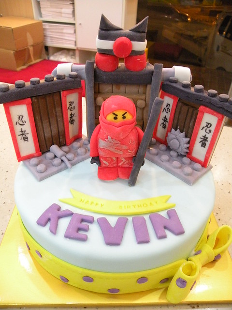 BCK Ninjago Cake (Credit: Cake Girl by Hyeyoung Kim on Flickr.com)