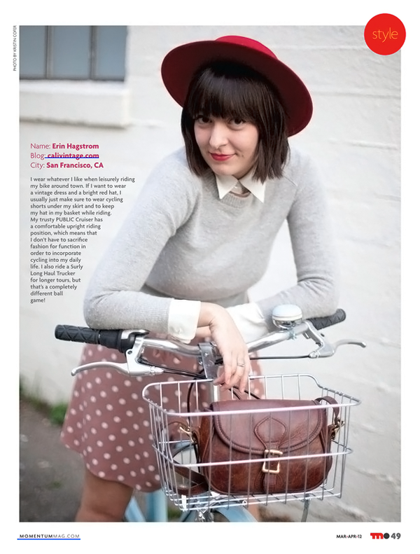 calivintage in momentum magazine