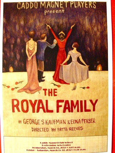 Caddo Magnet Players: The Royal Family, Wed, Mar 14, 4 pm; Fri, Sat, Mar 16, 17, 6:30 pm17 by trudeau