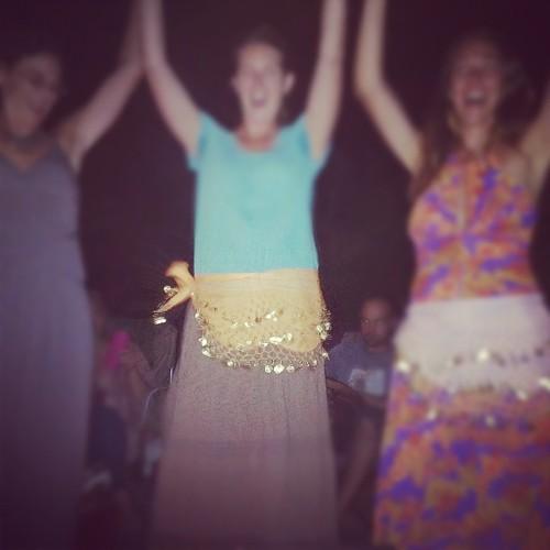 Fire dancing mamas!