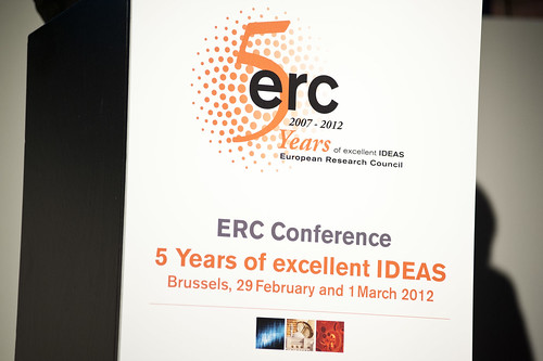 ERC, 5 Years of excellent IDEAS, Brussels, 29 February - 1 March 2012 (©Vivian Hertz)