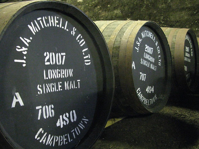 Springbank distillery - 2007 Longrow casks