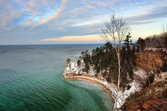 Wintertime at Miners Castle - Michigan's Pictured Rocks National Lakeshore by Michigan Nut