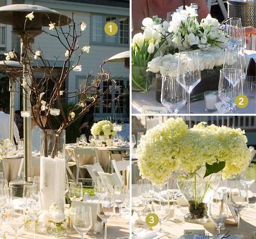 whiteweddingflowersandcenterpieces Lamp shado eff ct of fine graceful