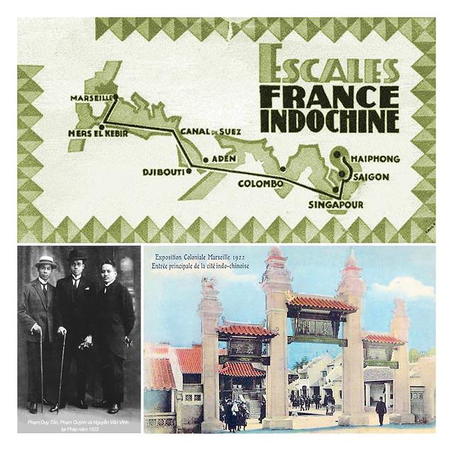 PHẠM QUỲNH - Exposition Coloniale de Marseille 1922