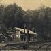 Spring Bluff Railway Station, Queensland, Australia -  postcard dated 23 December 1907 by Aussie~mobs