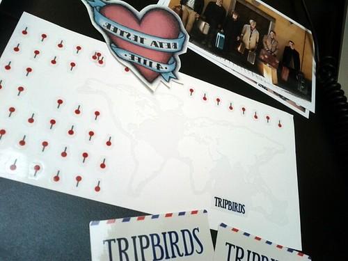Lovely Tripbirds invite
