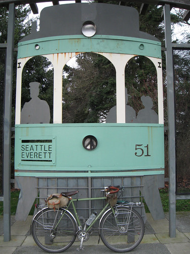 Riding the Interurban - Public Art