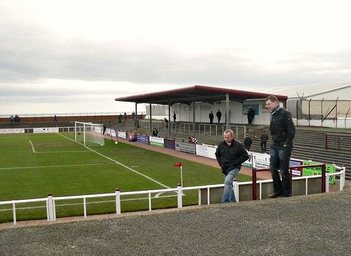 Gayfield, South Covered Terracing from west