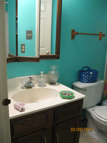 3/5/12 - Kids' bathroom before