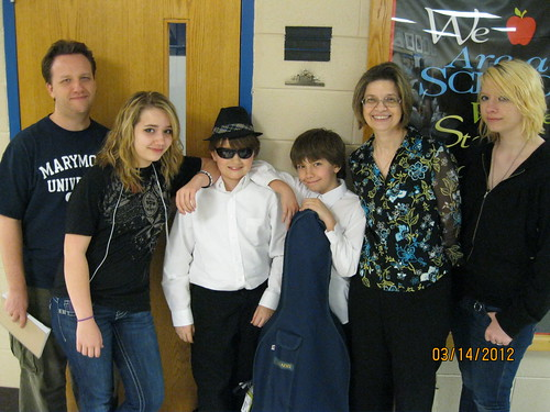 3/14/12 - The boys after their strings concert