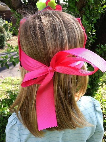 flower fairy crown back tie