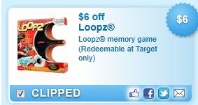$6 Off Loopz Memory Game Coupon