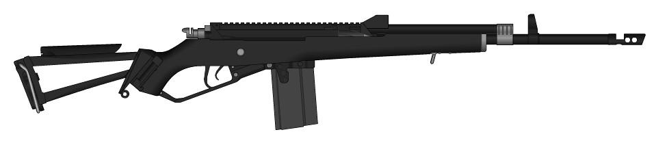Swedish Model 12-LS Rifle