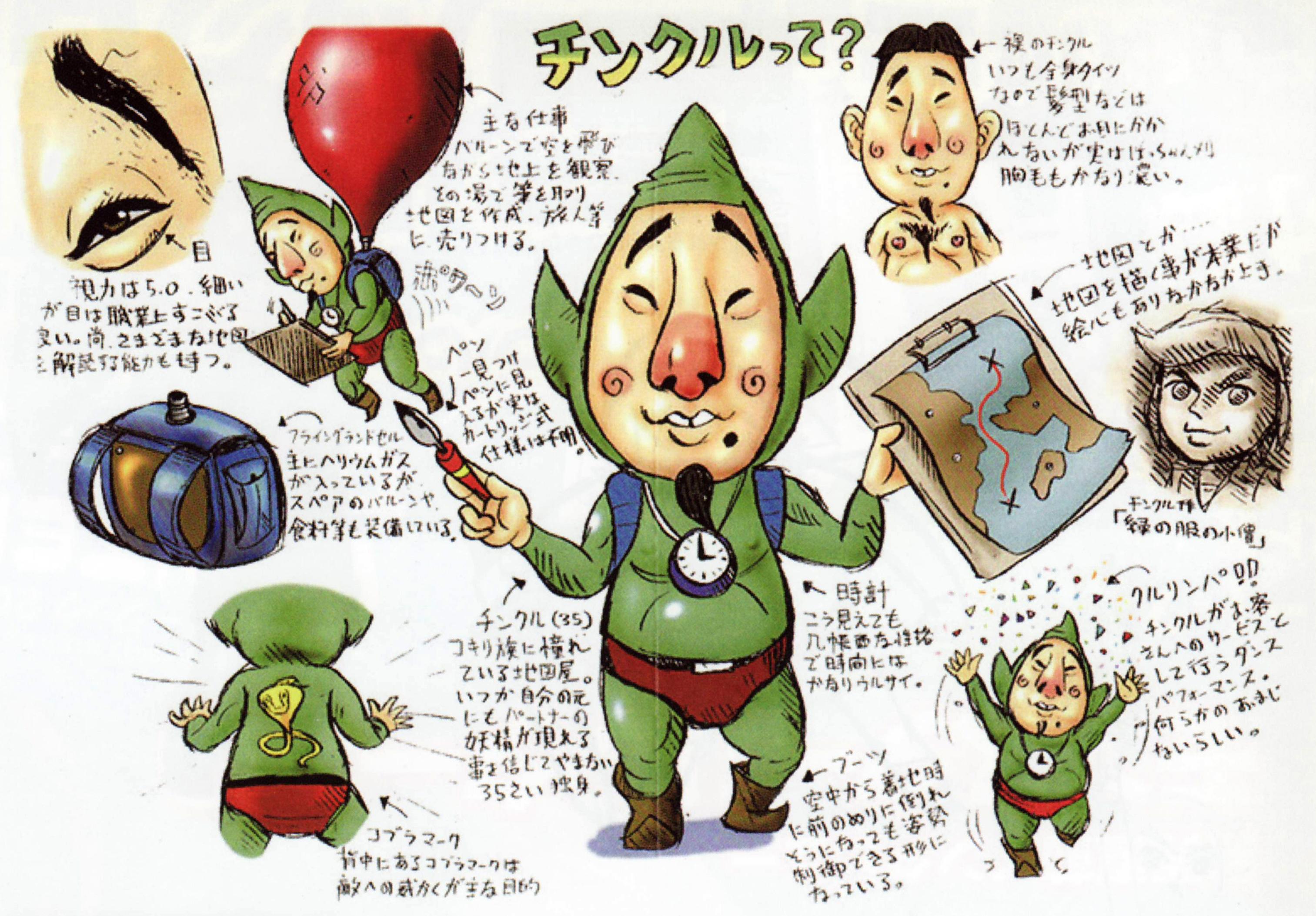 Glitterberris Game Translations Tingle Zephos And Cyclos