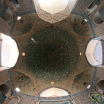 Fisheye View Inside Jameh Mosque - Yazd, Iran