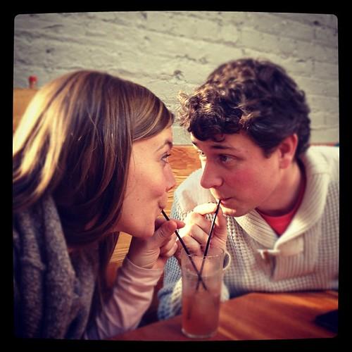 Milkshakes? Or whiskey margaritas? #love