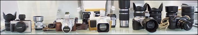 Panasonic GX1, Olympus E-PL3, Olympus E-P2, Sony NEX-5, Sony NEX-7 Panasonic GX1, Olympus E-PL3, Olympus E-P2, Sony NEX-5, Sony NEX-7