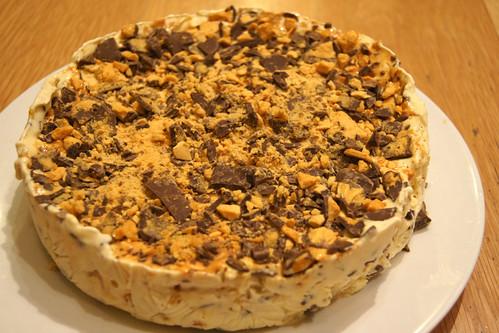 Ice Cream Cake Recipe - Honeycomb Flavour