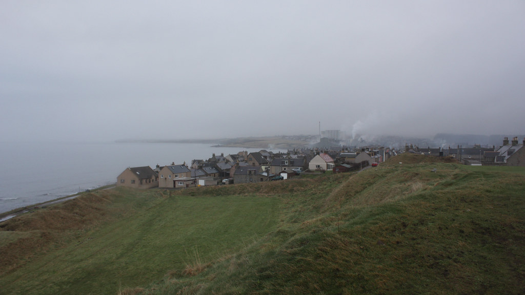Burghead from the headland
