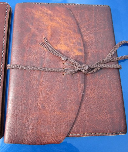 "What ""distressing"" does to the leather."