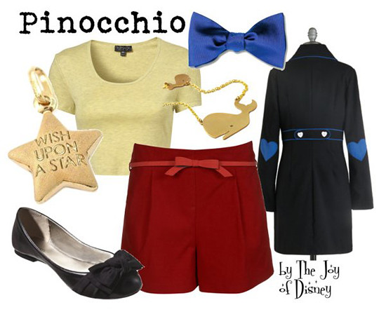 Inspired by: Pinocchio