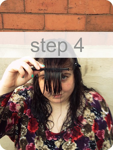 How to cut your fringe