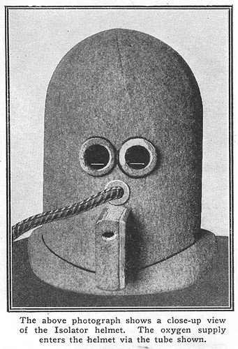 isolator front view