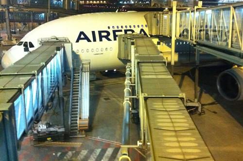 A380 - Boarding