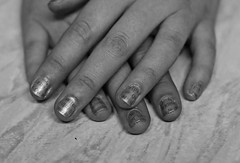 hand, nail care, finger, white, monochrome photography, close-up, nail, monochrome, black-and-white, manicure, cosmetics,