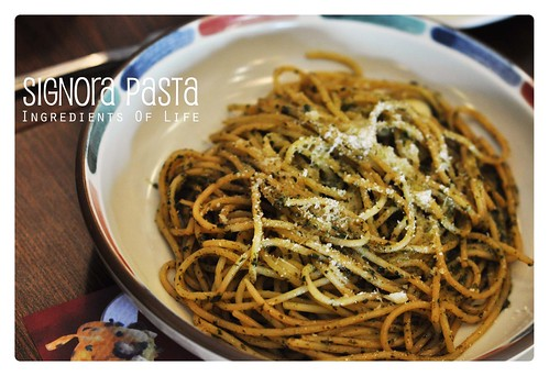 Spagheti pesto signora pasta
