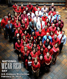 National Wear Red Day 2012