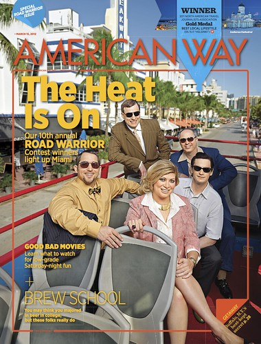 American Way Magazine March 15, 2012