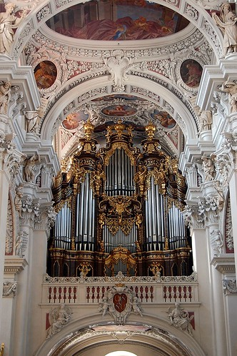 Organ in St. Stephan's Cathedral, Passau