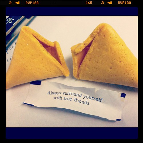 "#kvpnewsroom : My co-worker's #fortunecookie challenge - add ""in the newsroom"" to message. #fb #in"
