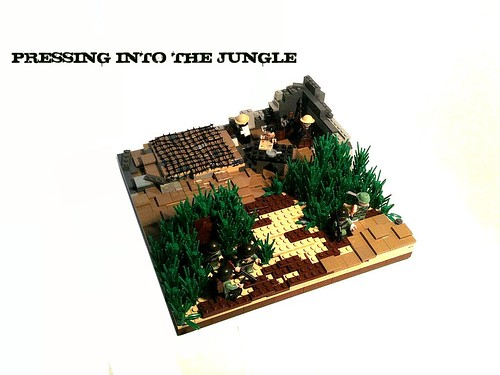 Pressing into the Jungle ('Nam Contest Entry)
