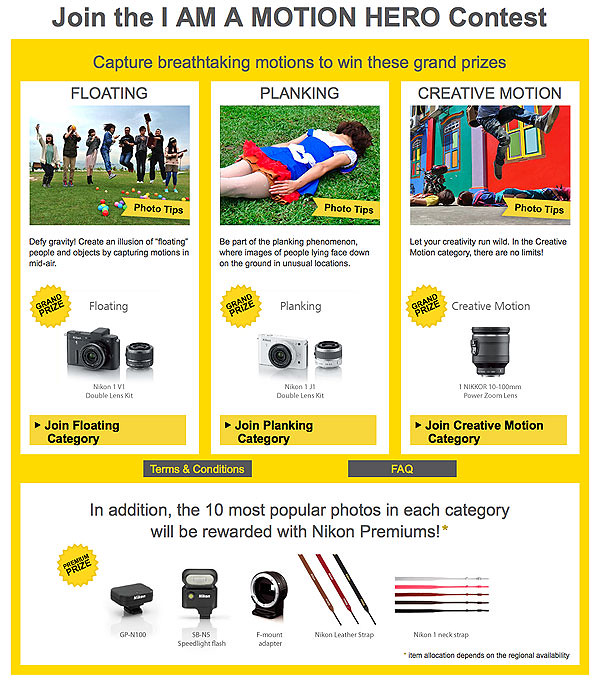 Join now to win your own NIKON 1!!!!