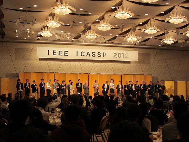 ICASSP 2012 banquet
