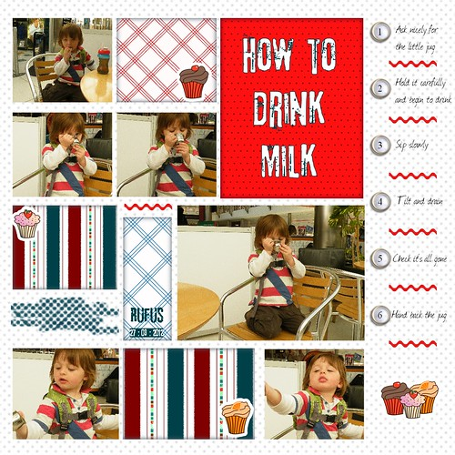 How to drink milk