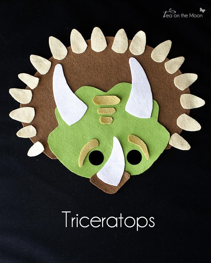 Mascara Triceratops