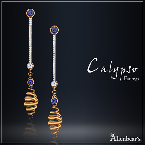 Calypso earrings Miss Greece