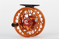 Nautilus FWX Fly Reel Custom Orange