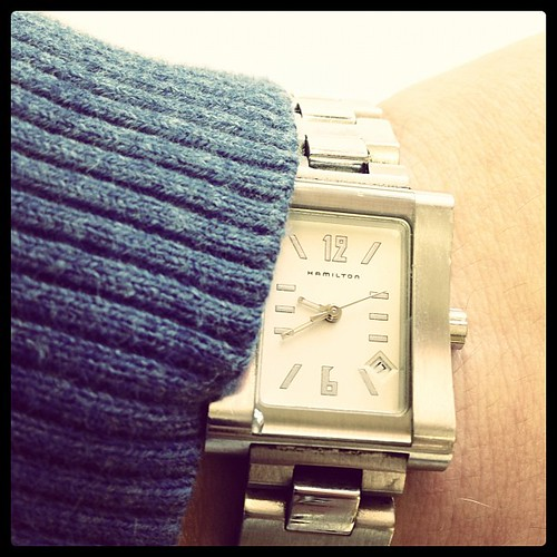 Don Draper's watch brand. If only I were that suave. #febphotoaday #time