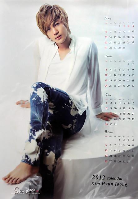 Kim Hyun Joong Kiss Kiss / Lucky Guy Calendar Posters