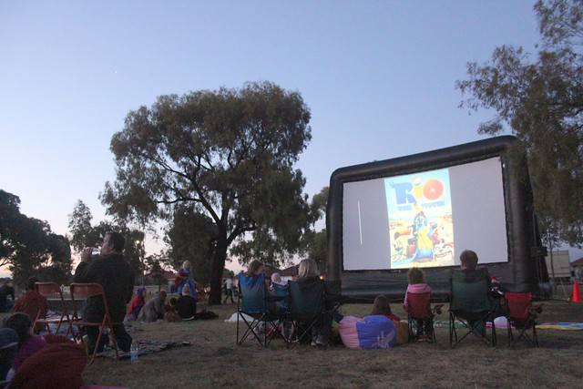 Going to 'Rio' with Movies in the Park - Fawkner