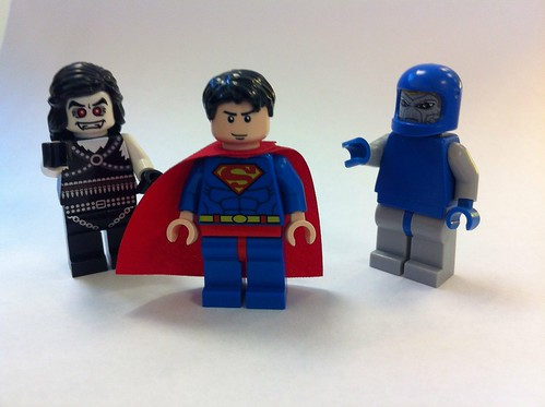 Lobo, Superman, Darkseid Custom LEGO Minifigs