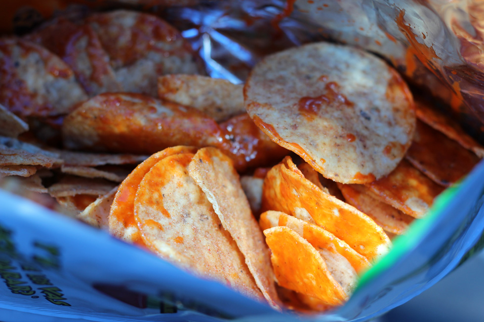 Mexican tortilla chips!