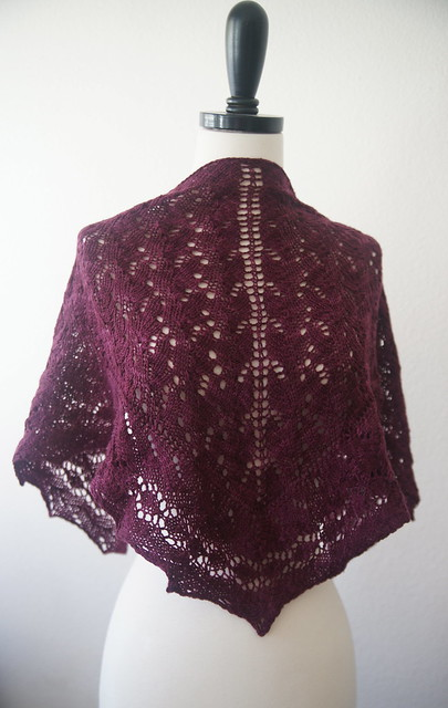 New shawl pattern in Baah Yarns