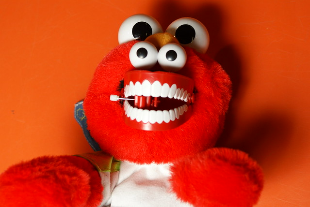 Elmo's pharyngeal jaws. | Flickr - Photo Sharing!
